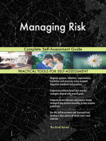 Managing Risk Complete Self-Assessment Guide