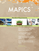 MAPICS Standard Requirements