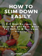 How to Slim Down Easily