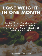 Lose Weight in One Month