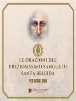 ORAZIONI DEL PREZIOSISSIMO SANGUE di Santa Brigida
