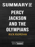 Summary of Percy Jackson and the Olympians by Rick Riordan | Conversation Starters
