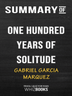 Summary of One Hundred Years of Solitude by Gabriel Garcia Márquez | Trivia/Quiz for Fans