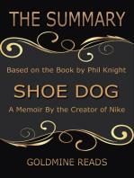 The Summary of Shoe Dog