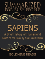 Sapiens – Summarized for Busy People