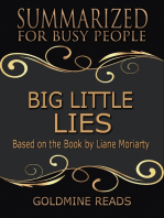 Big Little Lies - Summarized for Busy People