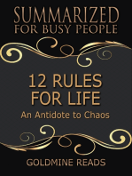 12 Rules for Life - Summarized for Busy People