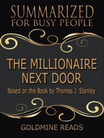 The Millionaire Next Door - Summarized for Busy People