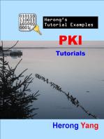 PKI Tutorials - Herong's Tutorial Examples