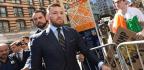 Khabib Nurmagomedov Leaves News Conference Before Conor McGregor Arrives