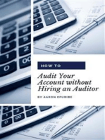 How to Audit Your Account without Hiring an Auditor