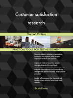 Customer satisfaction research Second Edition