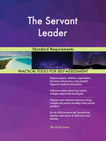 The Servant Leader Standard Requirements