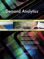 Demand Analytics A Clear and Concise Reference