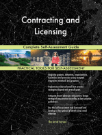 Contracting and Licensing Complete Self-Assessment Guide