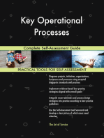 Key Operational Processes Complete Self-Assessment Guide