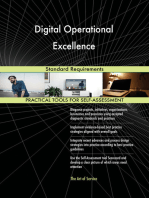 Digital Operational Excellence Standard Requirements