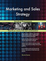 Marketing and Sales Strategy Standard Requirements