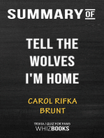 Summary of Tell the Wolves I'm Home by Carol Rifka Brunt | Trivia/Quiz for Fans