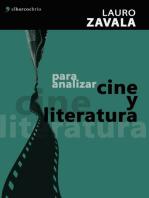 Para analizar cine y literatura