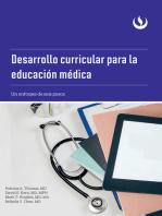 Desarrollo curricular para la educación médica: Un enfoque de seis pasos