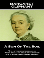 A Son Of The Soil