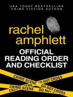 Rachel Amphlett Reading Order and Checklist