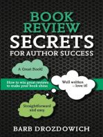 Book Review Secrets for Author Success