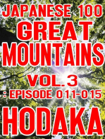 Japanese 100 Great Mountains Vol.3