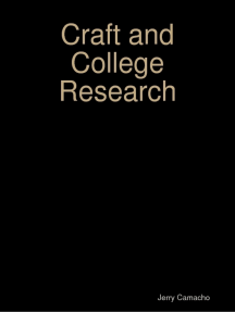 Craft and College Research