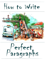 How to Write Perfect Paragraphs