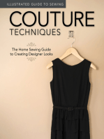 Illustrated Guide to Sewing: Couture Techniques: The Home Sewing Guide to Creating Designer Looks