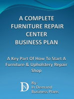 A Complete Furniture Repair Shop Business Plan