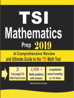 TSI Mathematics Prep 2019