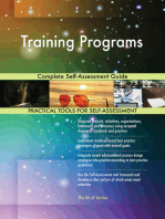 Training Programs Complete Self-Assessment Guide