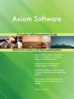 Axiom Software Complete Self-Assessment Guide