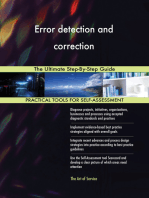 Error detection and correction The Ultimate Step-By-Step Guide