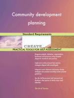 Community development planning Standard Requirements