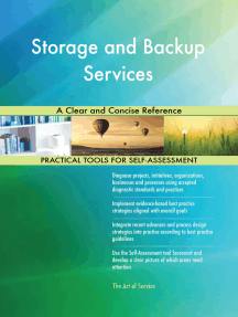 Storage and Backup Services A Clear and Concise Reference