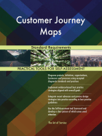 Customer Journey Maps Standard Requirements