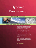 Dynamic Provisioning Standard Requirements
