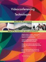 Videoconferencing Technologies Standard Requirements