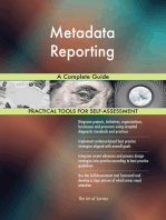 Metadata Reporting A Complete Guide