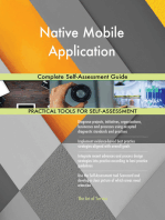 Native Mobile Application Complete Self-Assessment Guide