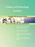 Product and Technology Portfolio Complete Self-Assessment Guide