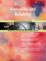 Availability and Reliability Standard Requirements