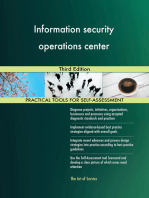 Information security operations center Third Edition
