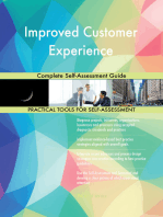 Improved Customer Experience Complete Self-Assessment Guide