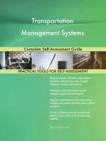 Transportation Management Systems Complete Self-Assessment Guide