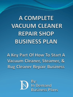 A Complete Vacuum Cleaner Repair Shop Business Plan